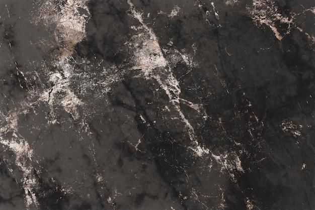 Fond texturé en marbre noir brun