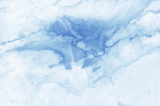 Fond de texture marbre pastel bleu en motif naturel