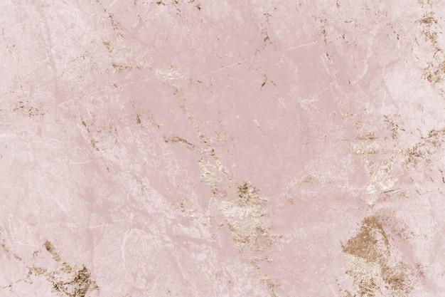 Fond texturé en marbre rose et or