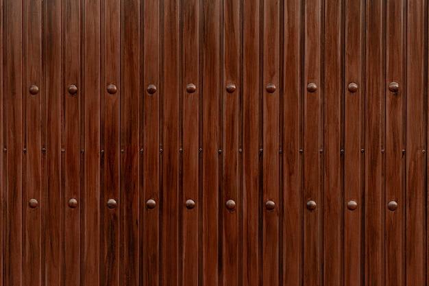 Fond de texture marron rustique en bois