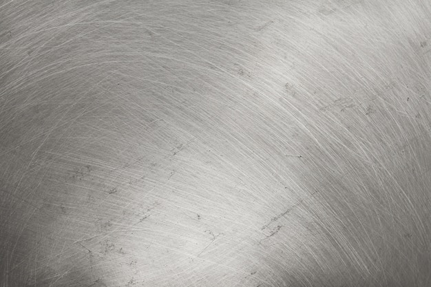 Fond de texture en métal en aluminium, rayures sur l'acier inoxydable poli.