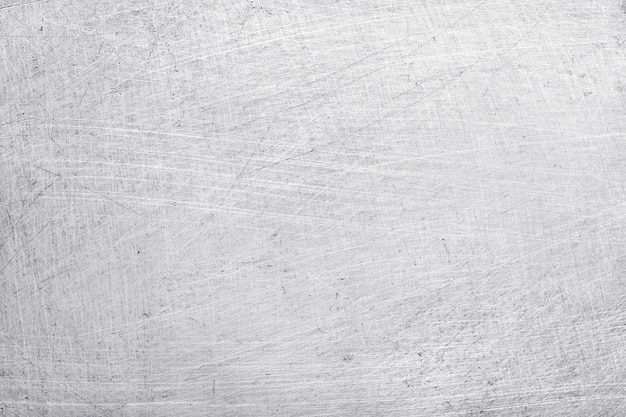 Fond de texture en métal aluminium, rayures sur acier inoxydable poli.