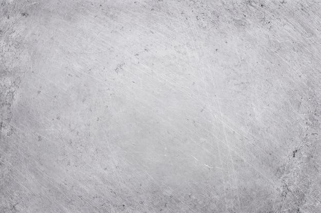 Fond de texture en métal aluminium avec rayures et poli.