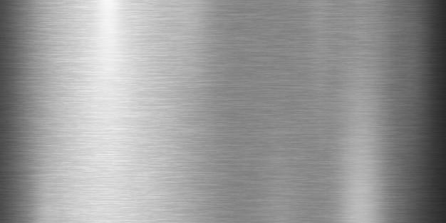 Fond de texture en métal argenté