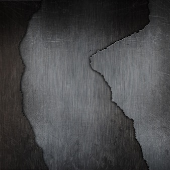 Fond de texture en métal fissuré grunge 3d