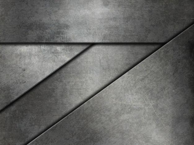 Fond de texture en métal grunge
