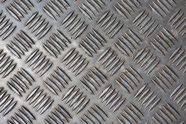 Fond de texture en métal en relief