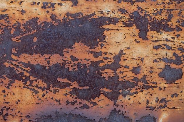 Fond de texture en métal rouillé industriel