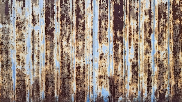 Fond de texture en métal rouillé minable sombre. surface métallique rouillée avec de la peinture.