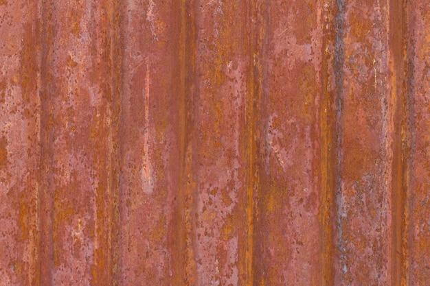 Fond de texture en métal rouillé usé foncé