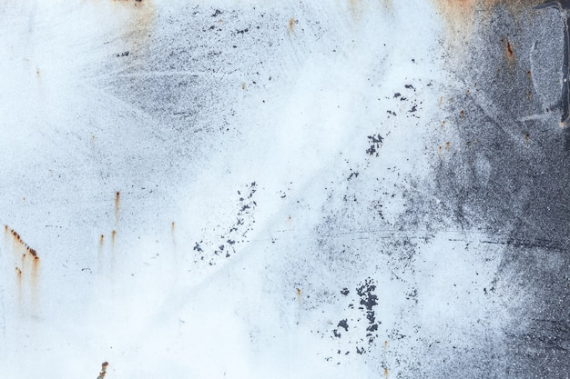 Fond de texture en métal rouillé usé léger. effet vintage.