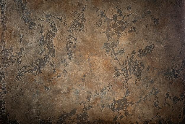 Fond de texture en métal rouillé