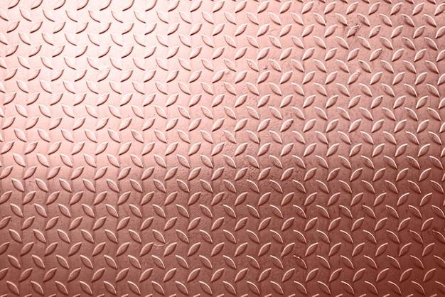 Fond de texture métallique feuille d'or rose