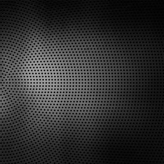 Fond de texture métallique perforée