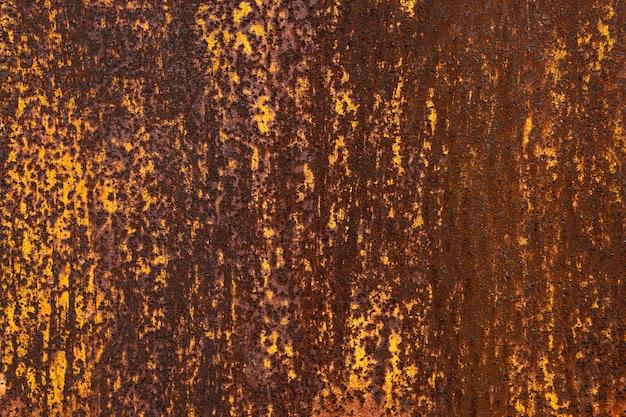 Fond texturé métallique rouillé