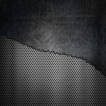 Fond de texture métallique
