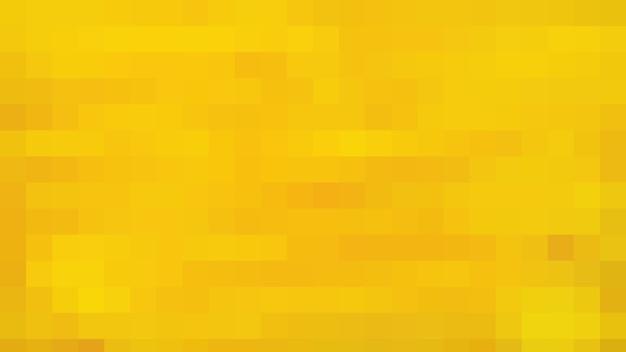 Fond de texture de modèle abstrait de mosaïque jaune, fond d'écran flou doux
