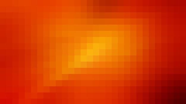 Fond de texture de modèle abstrait de mosaïque orange, fond d'écran flou doux