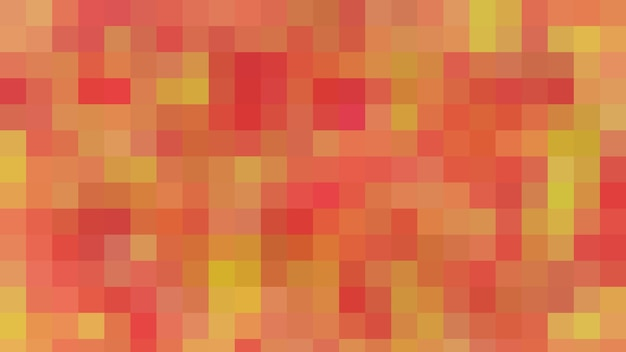 Fond de texture de modèle abstrait de mosaïque rouge, fond d'écran flou doux