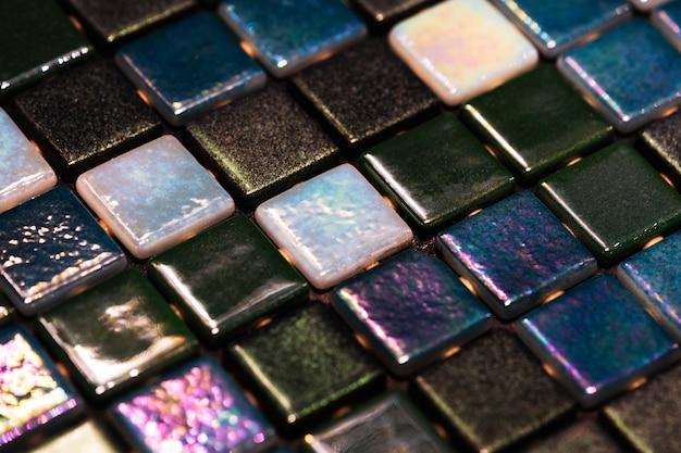 Fond texturé de mosaïque colorée décorative