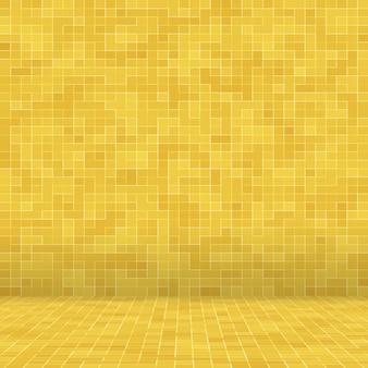 Fond de texture mosiac or jaune