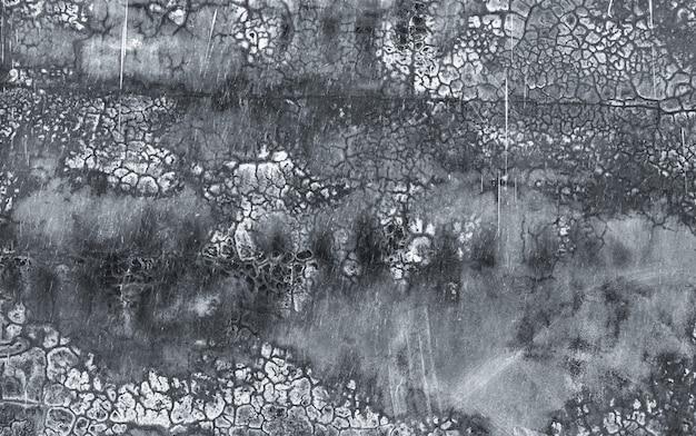 Fond de texture de mur de béton sale noir et gris fond de texture de mur de béton grunge foncé