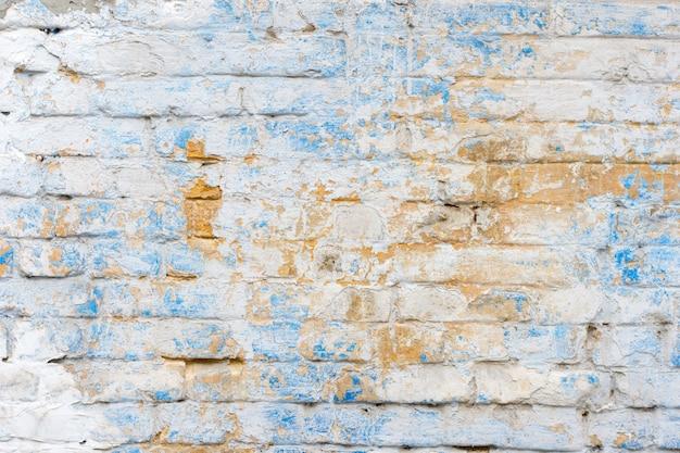 Fond de texture de mur de brique ancienne vintage, fond de style grunge pour votre conception