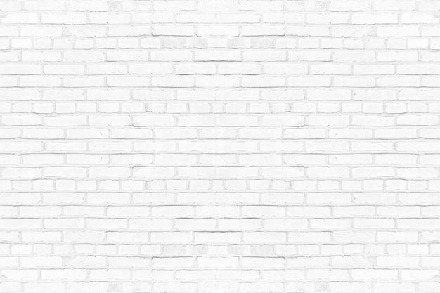 Fond de texture de mur de brique blanche moderne