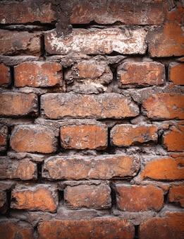Fond de texture de mur de brique colorée.