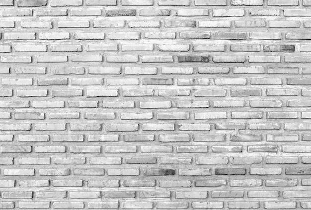 Fond de texture mur brique noir et blanc