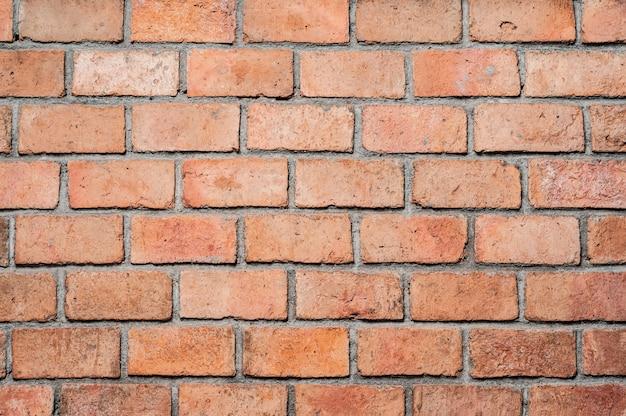 Fond de texture de mur de brique orange abstraite