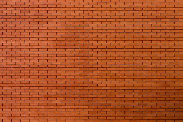 Fond de texture de mur de brique rouge.
