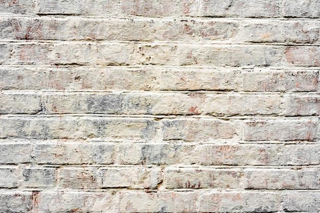 Fond de texture de mur de brique. texture de brique avec des rayures et des fissures