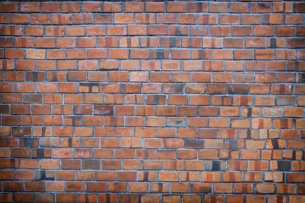 Fond de texture de mur de brique de vieux mur de briques vintage