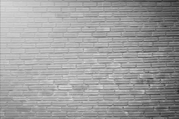Fond de texture de mur de briques blanches grunge
