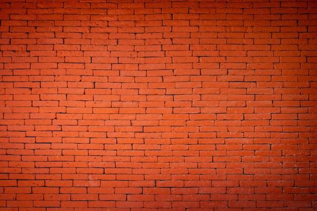 Fond de texture de mur de briques brunes rouges.