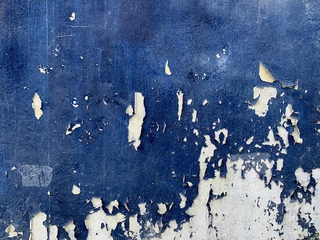 Fond de texture de mur de couleur bleue abstraite