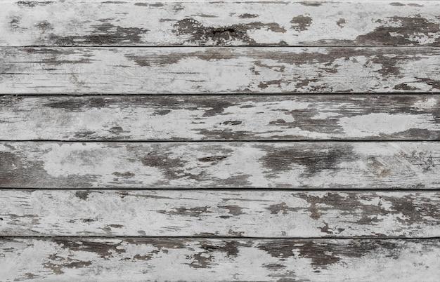 Fond et texture mur de grange en bois blanc décoratif