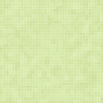 Fond et texture de mur de mosaïque de carreaux de pixel carré vert vif abstrait.