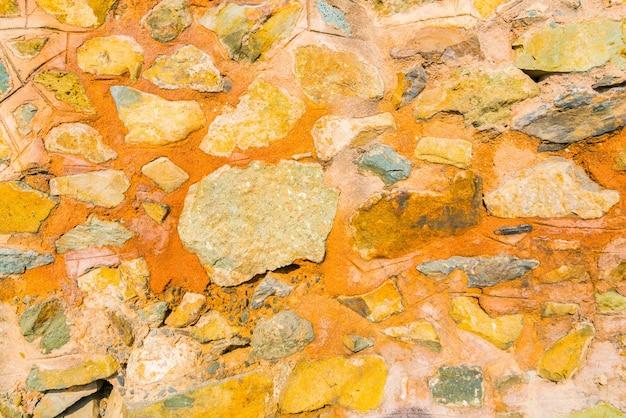 Fond de texture de mur de pierre.