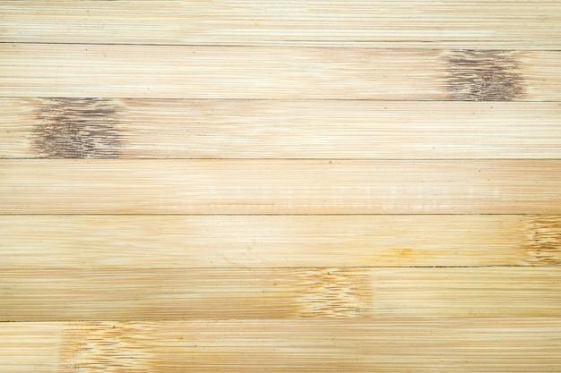 Fond de texture de mur de planche de bois de bambou