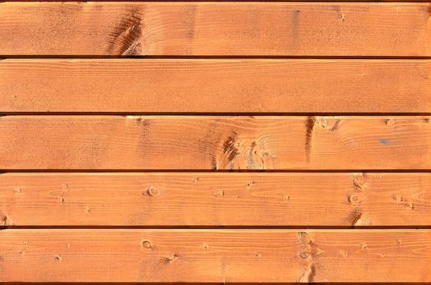 Fond de texture de mur de planche de bois jaune