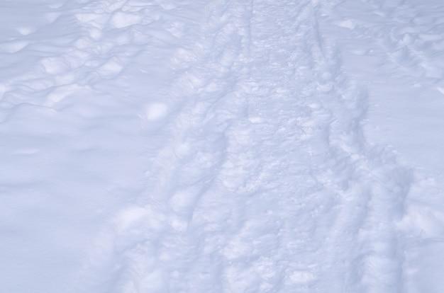 Fond de texture de neige. blanche neige étincelante.