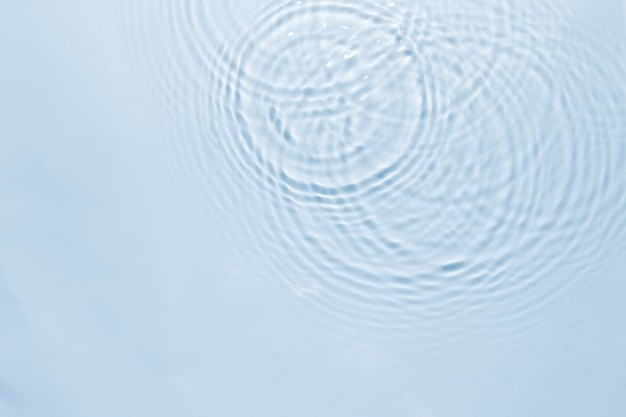 Fond de texture d'ondulation de l'eau, design bleu