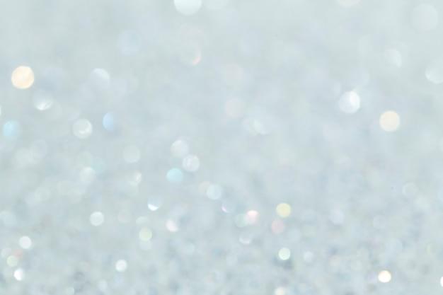 Fond texturé de paillettes blanches brillantes