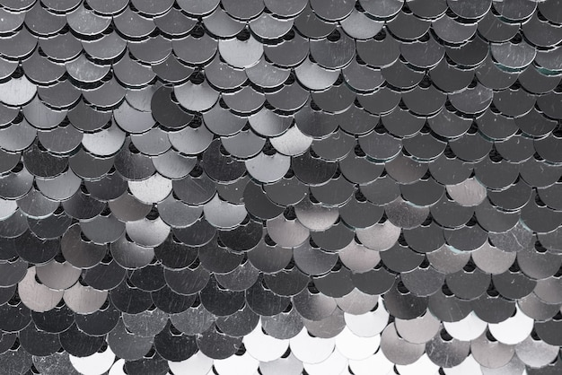 Fond texturé de paillettes métalliques, textile