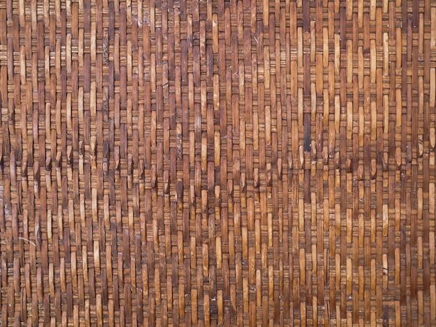 Fond de texture de panier en bois