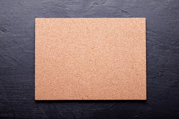 Fond de texture de panneau de liège, panneau de liège