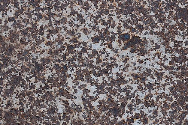 Fond de texture de panneau en métal rouillé
