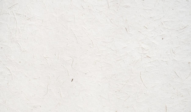 Fond de texture de papier artisanal blanc à partir de feuilles naturelles fabriquées.